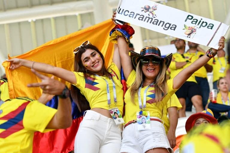 Hinchas de la Selección Colombia