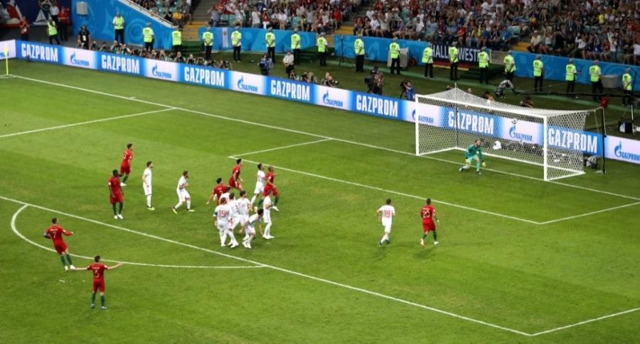 Gol de Cristiano a España