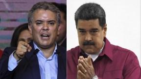 Duque y Maduro