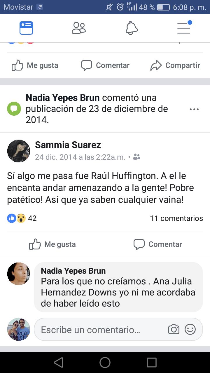 Publicación Sammia Suárez