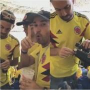 Colombianos que ingresaron licr ra estadio en Rusia