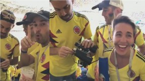Colombianos que ingresaron licr ra estadio en Rusia