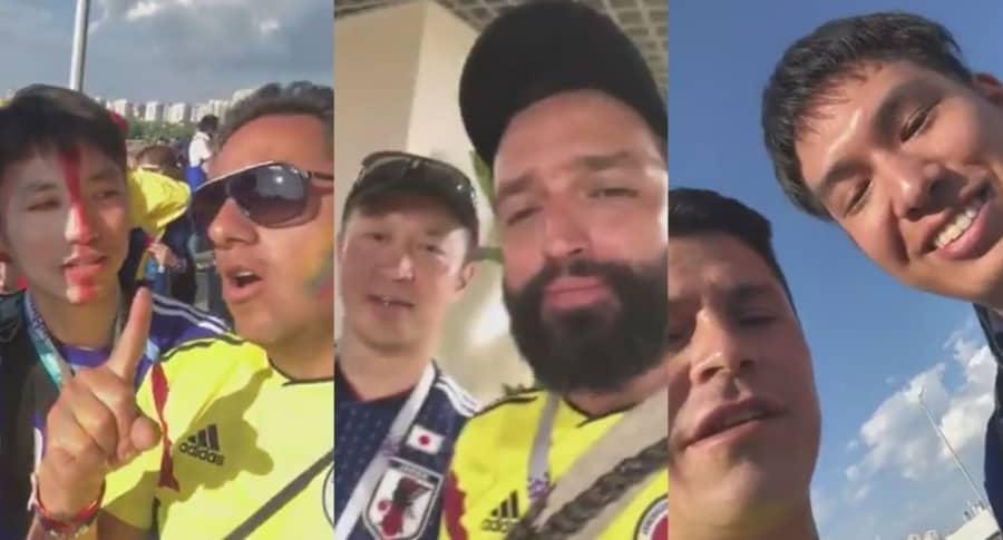 Colombianos maleducados en Rusia