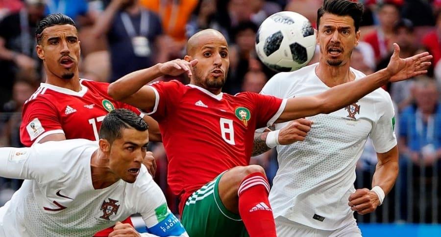 Portugal 1-0 Marruecos