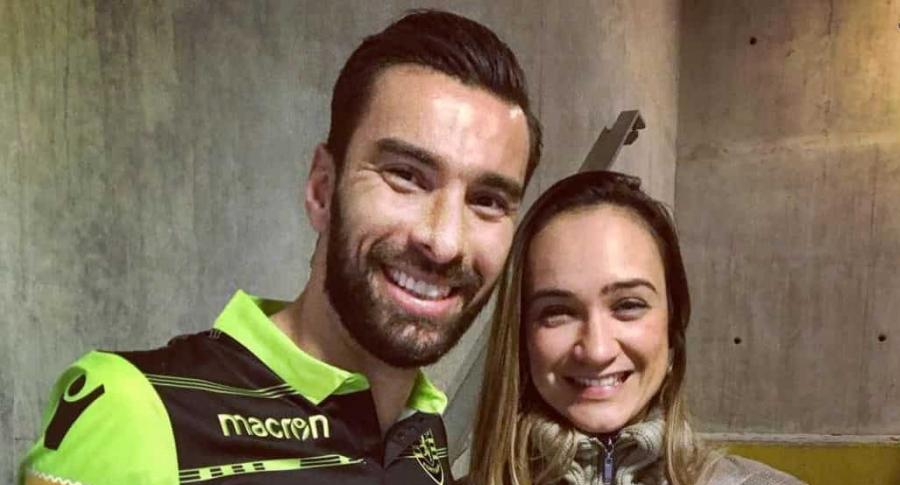 Rui Patricio y su esposa Vera Ribeiro