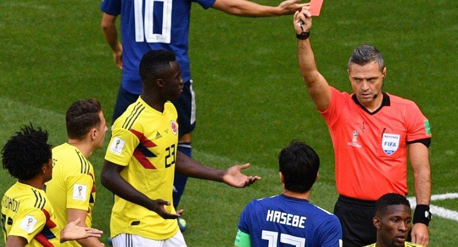 Selección Colombia vs. Japón