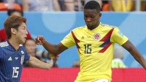 Jéfferson Lerma con la Selección Colombia ante Japón.
