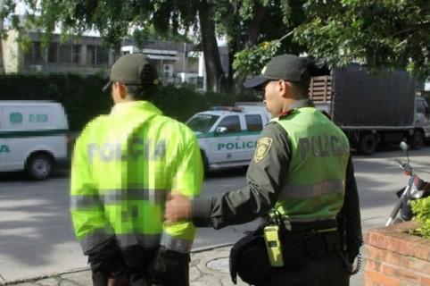 Policías capturados