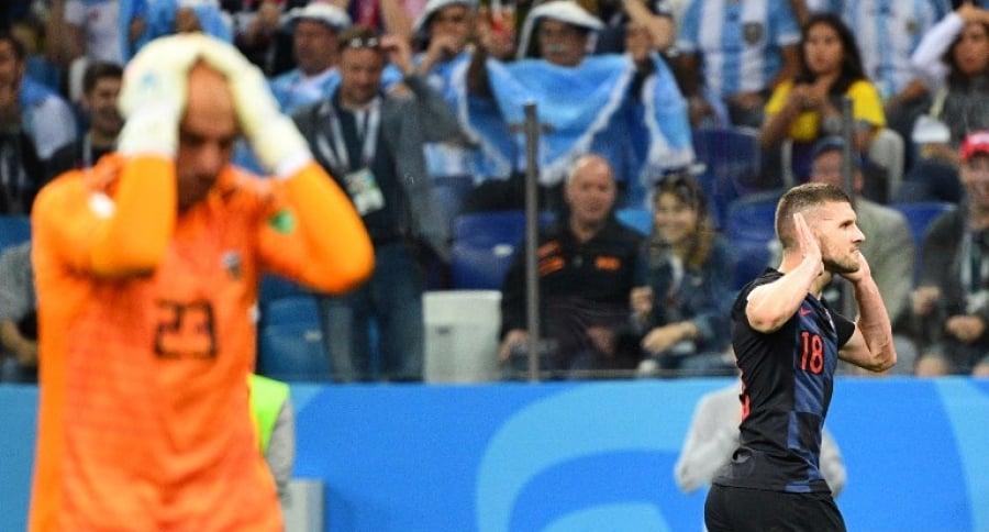 Wilfredo Caballero, arquero de la selección de Argentina