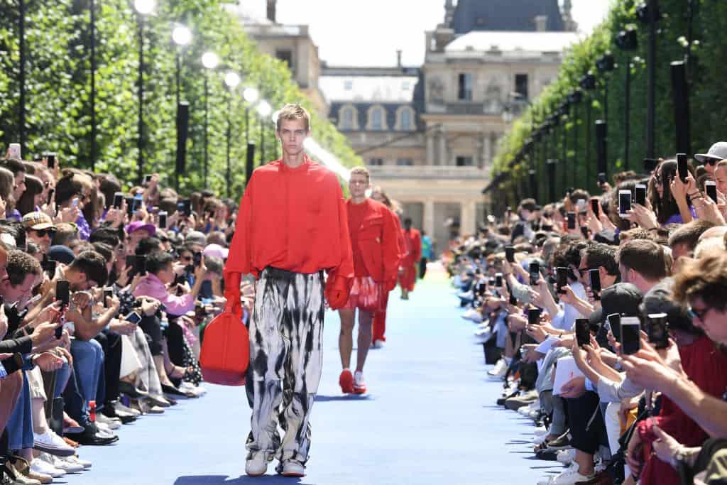 Desfile de Louis Vuitton en la Semana de la Moda de París 2018