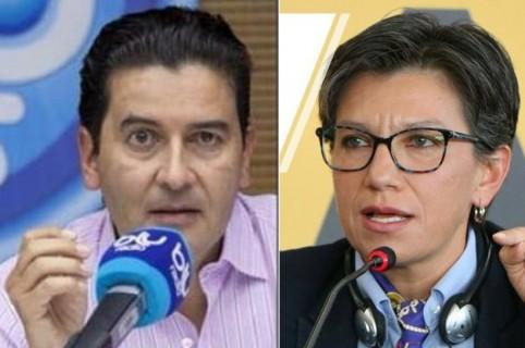 Néstor Morales y Claudia Lopez