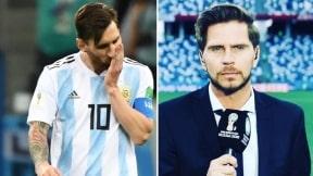 Lionel Messi y Sebastián Vignolo
