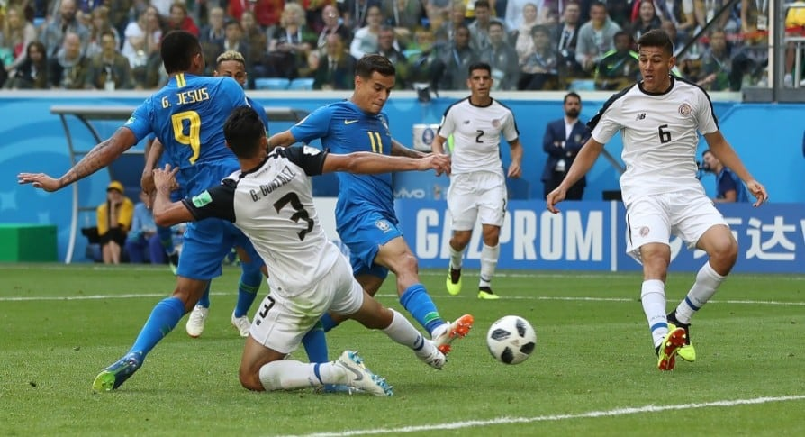 Brasil 2-0 Costa Rica