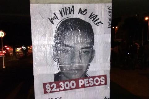Andrés Camilo Ortiz Jiménez, estudiante de contaduría de la Universidad Nacional asesinado