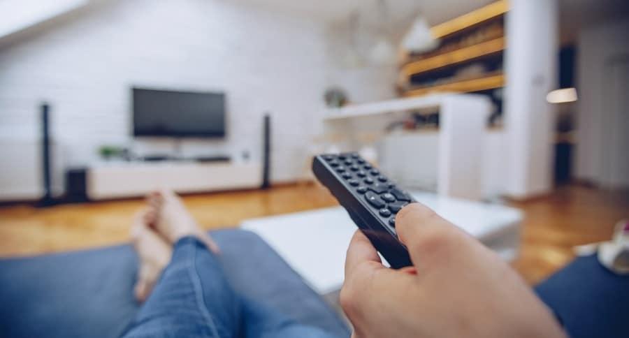 Viendo Televisión