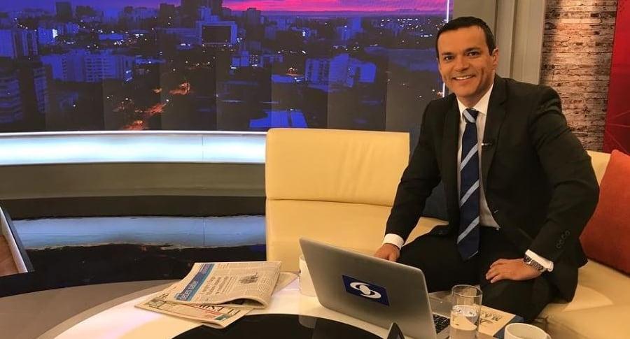 Juan Diego Alvira, presentador.