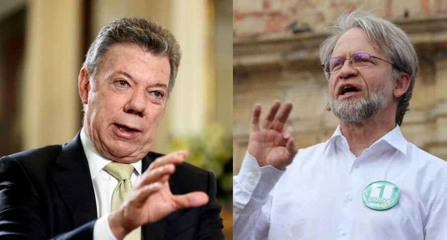Juan Manuel Santos - Antanas Mockus