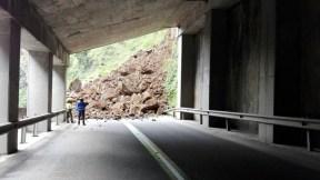 Derrumbe vía Bogotá-Villavicencio