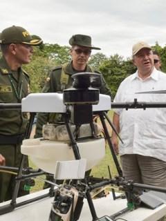 Drones ministerio de Defensa