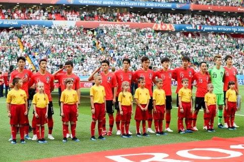Jugadores de Corea del Sur