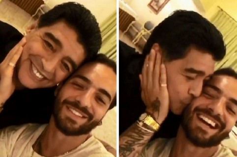 Maradona y Maluma