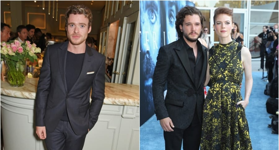 Richard Madden / Kit Harington y Rose Leslie