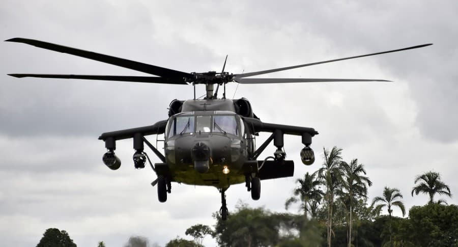 Helicóptero de la Policía
