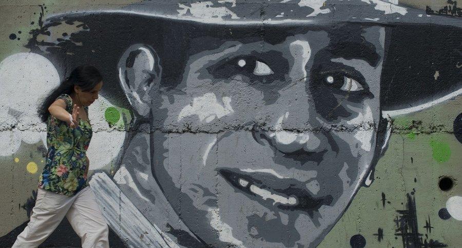 Mural Carlos Gardel