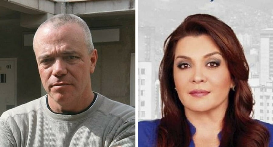 Jhon Jairo Velásquez, alias Popeye, y la congresista Margarita Restrepo