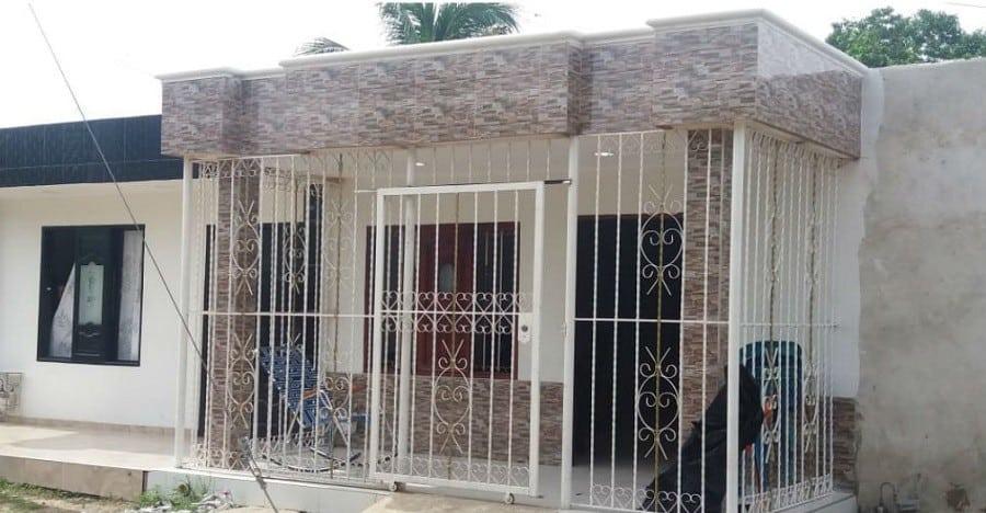 Casa donde se produjo la tragedia