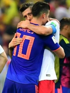Lewandowski y James