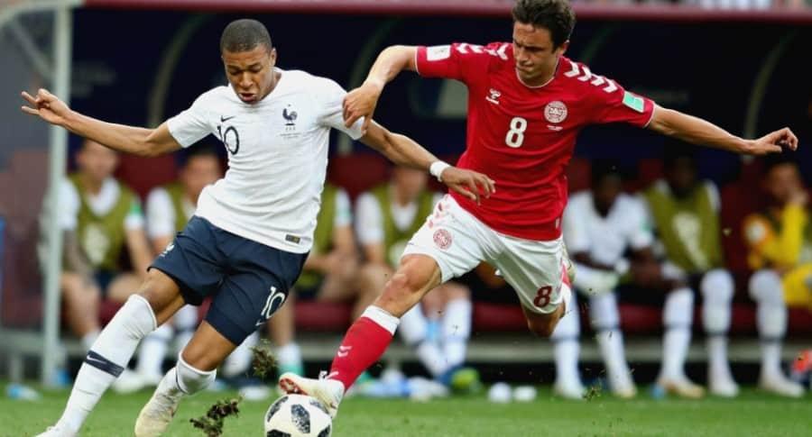 Francia 0-0 Dinamarca
