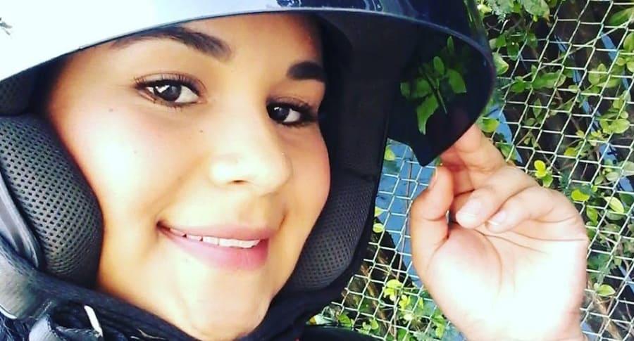 Nicole Dayanna Cabrera, joven fallecida tras el accidente