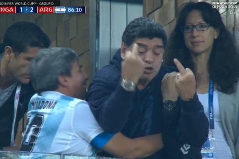 'Pistola' de Maradona