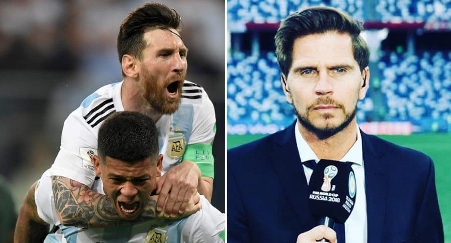 Selección de Argentina y Sebastián Vignolo