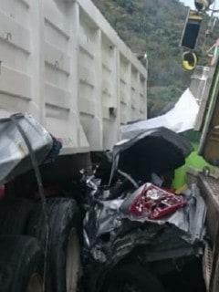Accidente en vía Girardot-Bogotá