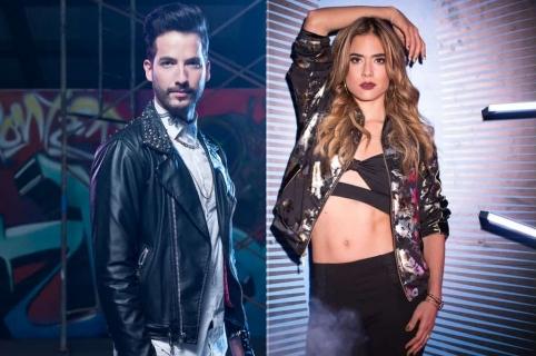 Carlos Torres y Carolina Ramírez, actores.