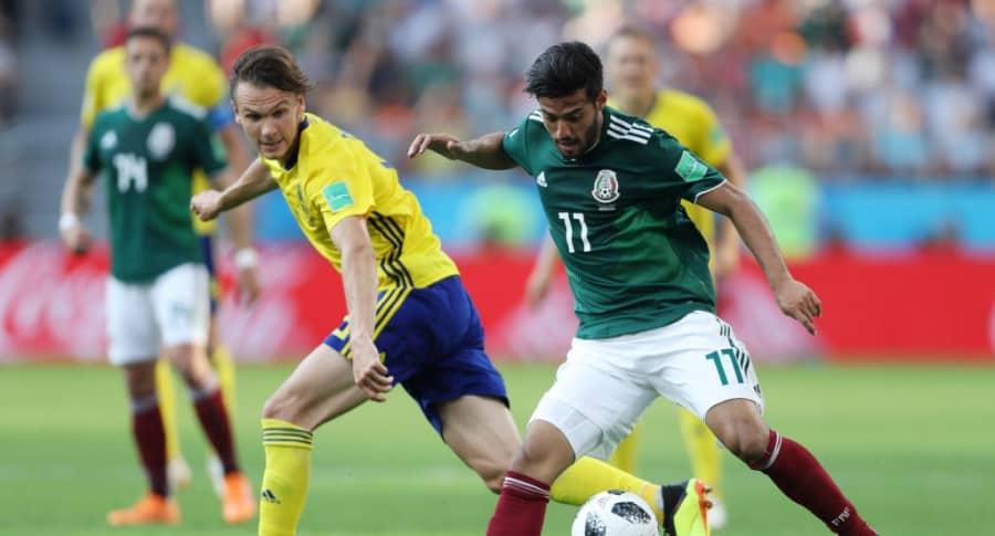 México vs. Suecia