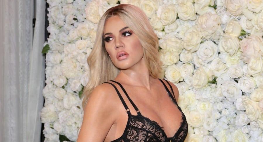 Estatua de cera de Khloé Kardashian
