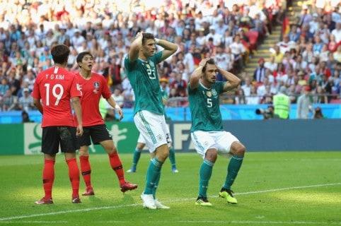 Alemania, eliminada del Mundial