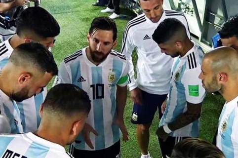 Arenga de Messi