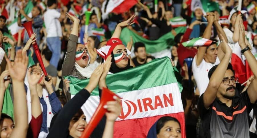 ´Hinchas de la selección de Irán