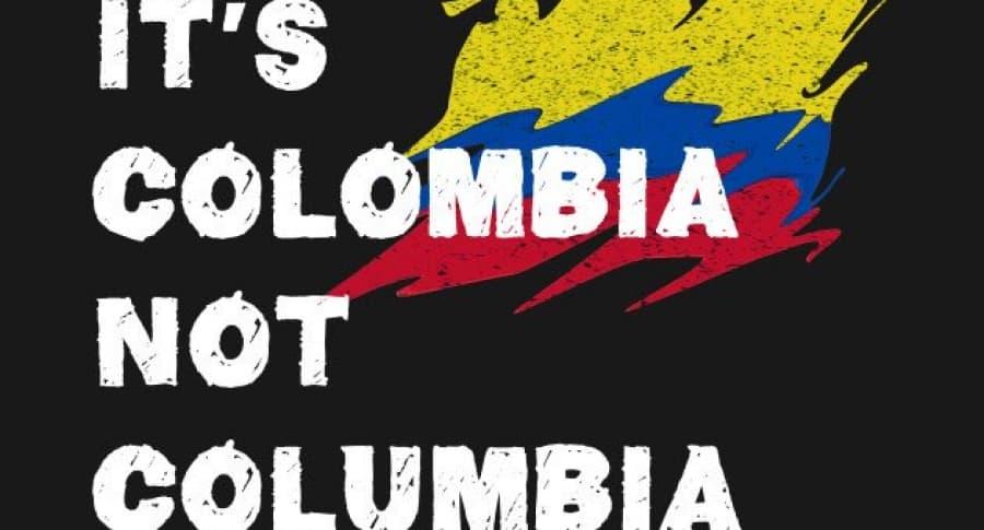 Es Colombia, no Columbia