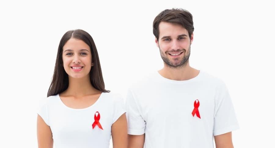 Personas con símbolo de VIH