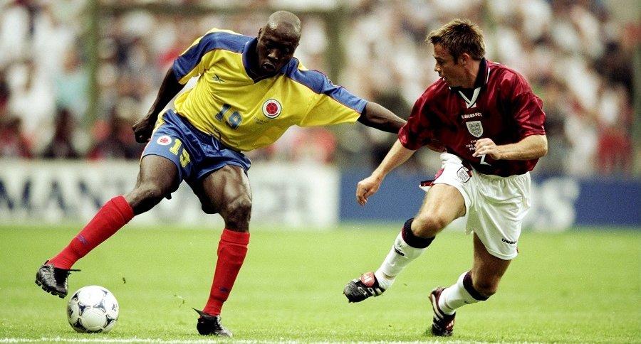 Inglaterra vs. Colombia