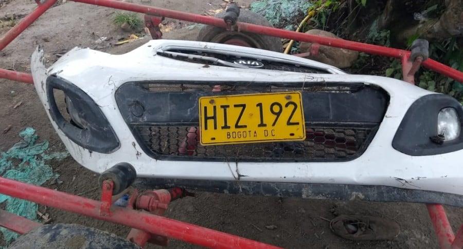Auto accidentado