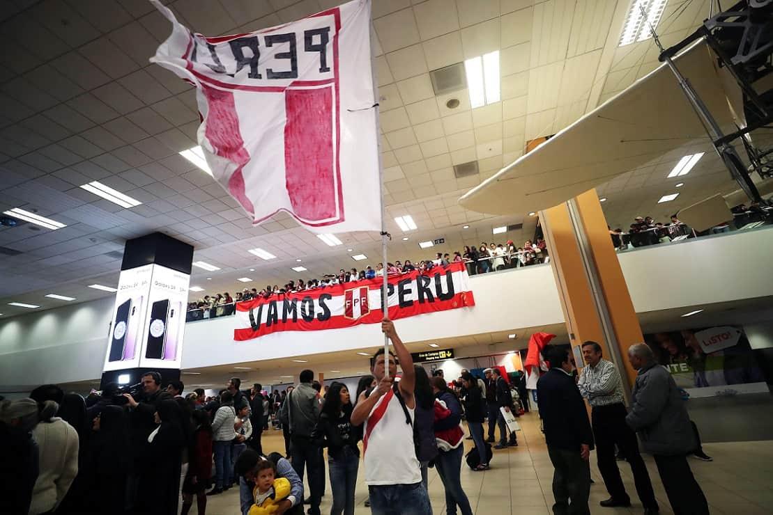 La selección peruana regresa al país tras haber culminado su participación en el Mundial de Rusia 2018