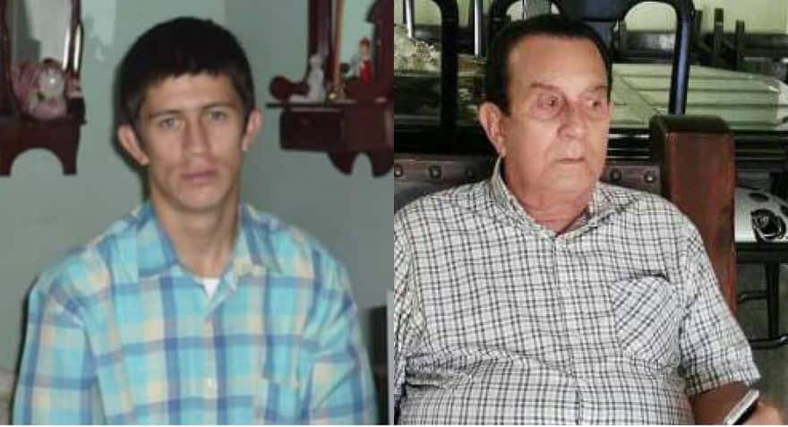 Félix Humberto Santa y Antonio Castillo Pacheco