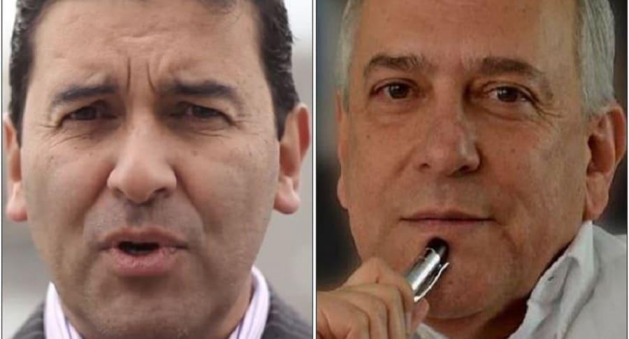 Néstor Morales y José Obdulio Gaviria