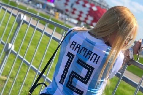 Esposa de Franco Armani